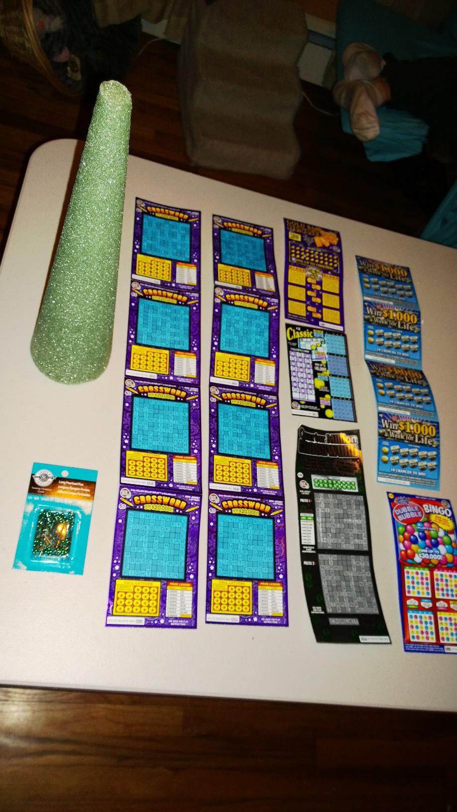 Last Minute Gift Lottery Ticket Tree My Asterisk Life