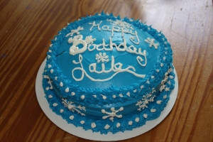 Laila's Frozen Cake