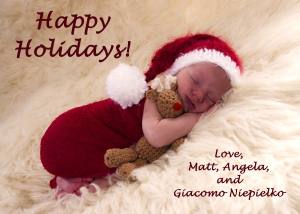 Giacomo's Christmas Card