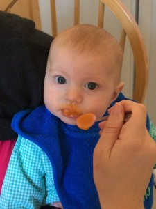 Jack Eating at 4 Months