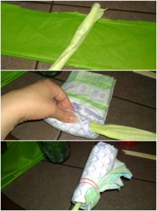 Diaper Flowers