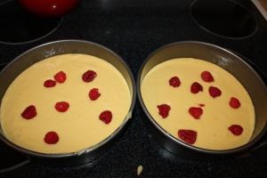 Orange Raspberry Cake