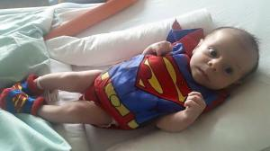 Tiny Super Hero