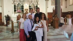 Quinn's Christening