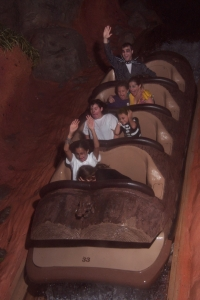 Splash Mountain in Costume
