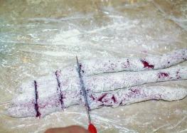 Cutting Gnocci
